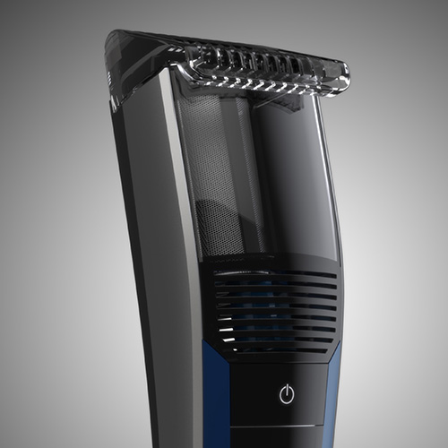 SILVERCREST Vacuum Beard Trimmer